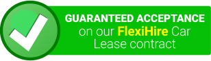 gauranteed acceptance on our flexihire carlease contract