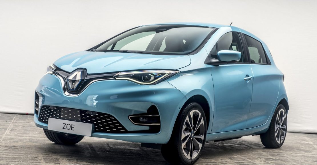 2020 Renault Zoe Lease