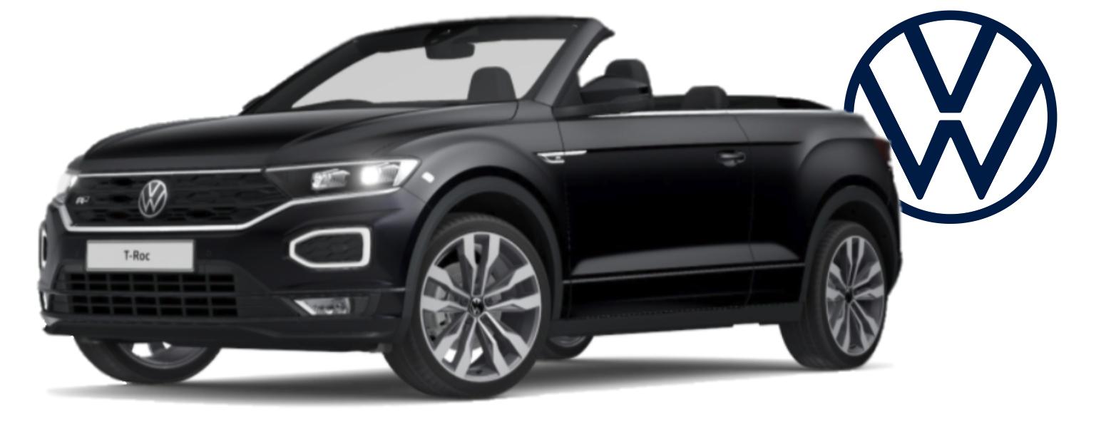 Bad Credit Volkswagen T-Roc Cabrio Leasing